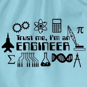 Trust Me I'm an Engineer T-Shirts - Drawstring Bag