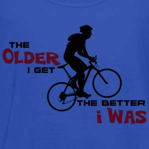 Bike Cycling Bicycle The Older I Get - Women's Tank Top by Bella
