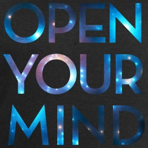 OPEN YOUR MIND, Universum, Galaxie, Meditation  - Männer Sweatshirt von Stanley & Stella