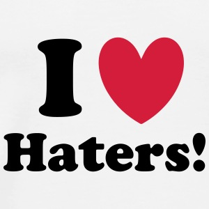 Haters Mugs & Drinkware - Men's Premium T-Shirt