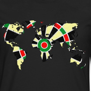 World dartboard T-Shirts - Men's Premium Longsleeve Shirt