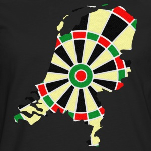 Netherlands dartboard T-Shirts - Men's Premium Longsleeve Shirt