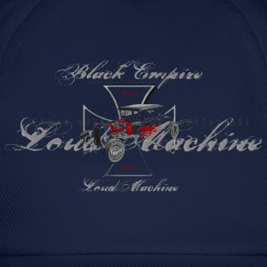 Black Empire Loud Machine  (front & back) - Baseballkappe