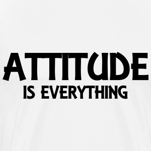 Attitude is everything Manches longues - T-shirt Premium Homme