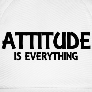 Attitude is everything Pullover & Hoodies - Baseballkappe