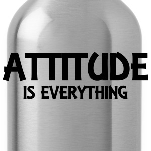 Attitude is everything Pullover & Hoodies - Trinkflasche