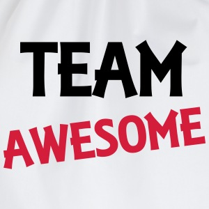 Team Awesome T-skjorter - Gymbag