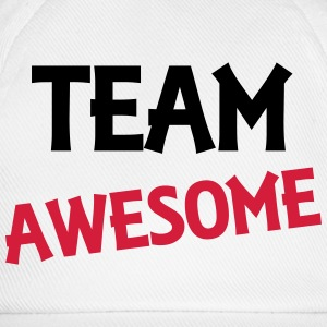 Team Awesome Langærmede T-shirts - Baseballkasket