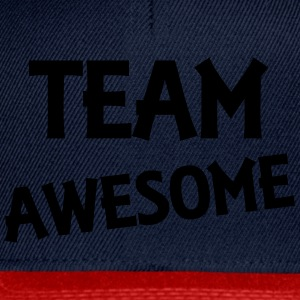 Team Awesome Camisetas - Gorra Snapback