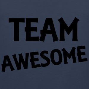 Team Awesome T-shirts - Premiumtanktopp herr