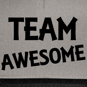 Team Awesome Sweatshirts - Snapback Cap