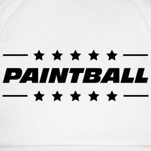 Paintball / Paintballer / Sport / Game / Outdoor Baby Bodysuits - Baseball Cap