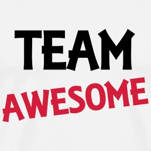 Team Awesome Tops - Mannen Premium T-shirt