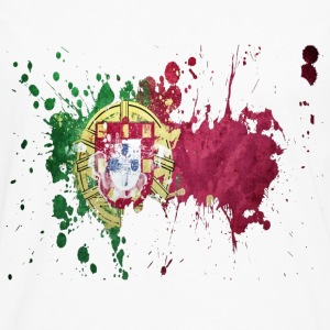 splatter portugal - Men's Premium Longsleeve Shirt