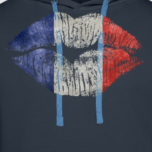 france kiss - Men's Premium Hoodie