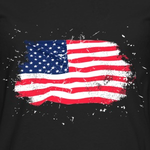 USA Flag - Vintage Look Hoodies & Sweatshirts - Men's Premium Longsleeve Shirt