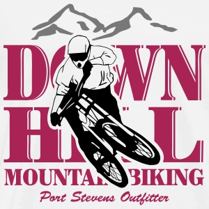 Downhill - Mountainbiking Langarmshirts - Männer Premium T-Shirt