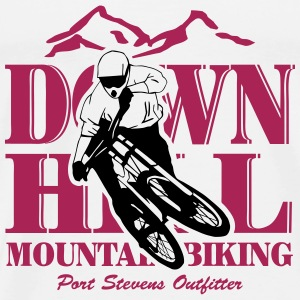 Downhill - Mountainbiking Tops - Men's Premium T-Shirt