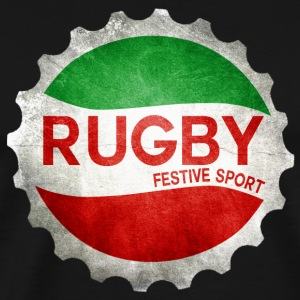 Rugby festive sport 2 Manches longues - T-shirt Premium Homme