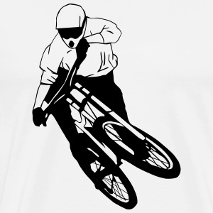 Downhill - Mountainbiking Sous-vêtements - T-shirt Premium Homme
