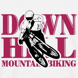 Downhill - Mountainbiking Tabliers - T-shirt Premium Homme