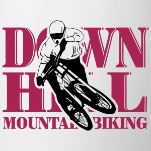 Downhill - Mountainbiking Sudaderas - Taza