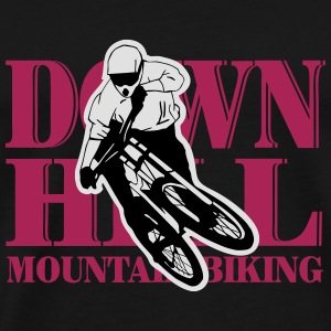Downhill - Mountainbiking Manches longues - T-shirt Premium Homme