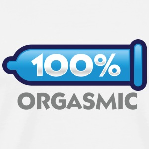 100 percent orgasmic! Long sleeve shirts - Men's Premium T-Shirt