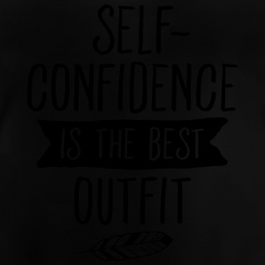 Self-Confidence Is The Best Outfit T-Shirts - Baby T-Shirt