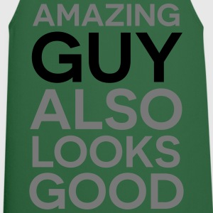 Amazing guy looks good T-Shirts - Cooking Apron