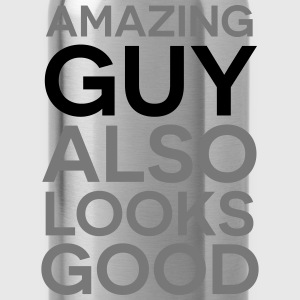 Amazing guy looks good T-Shirts - Water Bottle