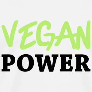 Vegan Power Tops - Männer Premium T-Shirt