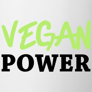 Vegan Power Magliette - Tazza