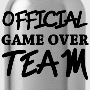 Official game over team Magliette - Borraccia