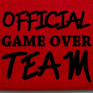 Official game over team Camisetas - Gorro de invierno