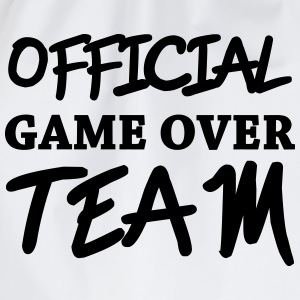 Official game over team Felpe - Sacca sportiva