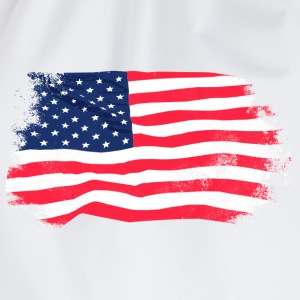 USA Flag - Vintage Look Sweatshirts - Sportstaske