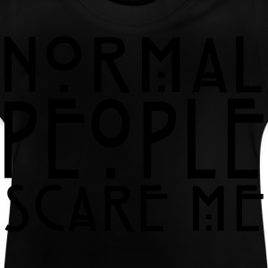 People Scare Me - KOLESON COUTURE - Baby T-Shirt