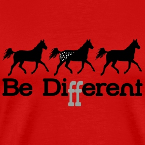 Be diFFerent - appaloosa horse Long Sleeve Shirts - Men's Premium T-Shirt
