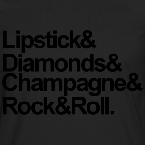 Lipstick & Diamonds & Champagne - KOLESON COUTURE  - Men's Premium Longsleeve Shirt