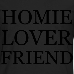 Homie Lover Friend - KOLESON COUTURE - Men's Premium Longsleeve Shirt