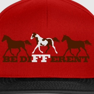 Paint Horse - Be different Tee shirts - Casquette snapback