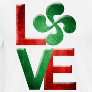 Love Euskadi 3 Tabliers - T-shirt Premium Homme