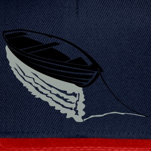 Boat on lake T-Shirts - Snapback Cap