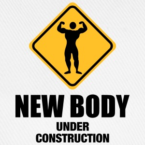 NEW VERSION: New body under construction Tank Tops - Baseball Cap