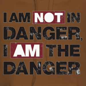 I am not in danger, I am the danger - Sweat-shirt à capuche Premium pour femmes