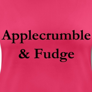 Applecrumble & Fudge - Frauen T-Shirt atmungsaktiv