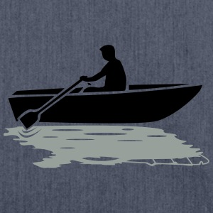 Boat vs. Powerboat T-Shirts - Shoulder Bag made from recycled material