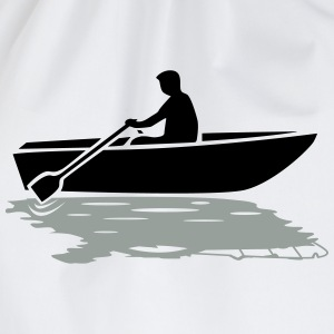 Boat vs. Powerboat T-Shirts - Drawstring Bag