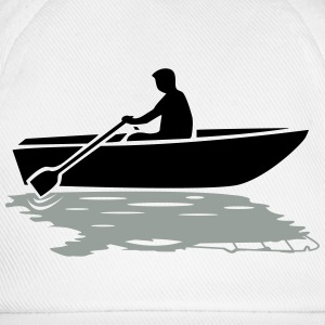 Boat vs. Powerboat T-Shirts - Baseball Cap